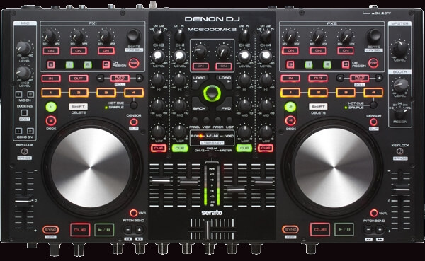 the denon dj mc6000mk2 all-in-one controller